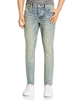 Purple Brand - Skinny Fit Jeans in Light Indigo