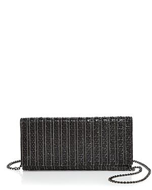 Aqua Megan Crystal Beaded Clutch - 100% Exclusive-Handbags