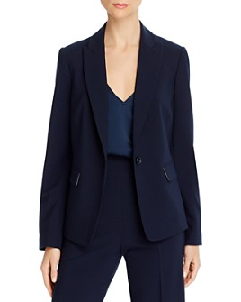 Rebecca Taylor - Long-Sleeve One-Button Blazer