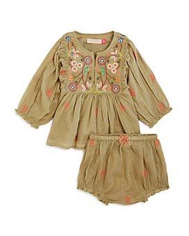 Pink Chicken - Girls' Ava Bella Peasant Dress & Bloomers Set