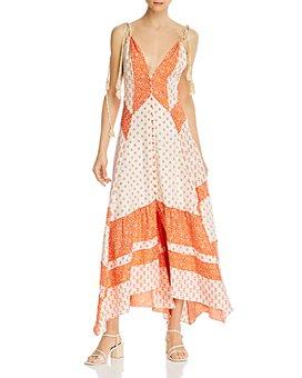 Rebecca Taylor - Colorblocked Maxi Dress