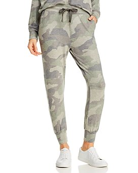Sundry - Camouflage-Printed Jogger Pants