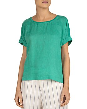 Gerard Darel - July Oversized Ramie Linen Tee