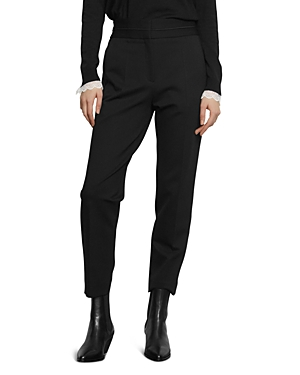 Sandro Nalla Tapered Ankle-Length Pants