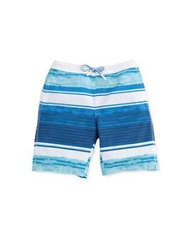 Johnnie-O - Boys' Trellis Striped Boardshorts