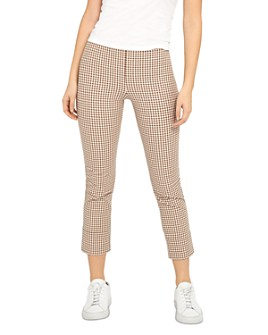 Theory - Printed Skinny Capri Pants