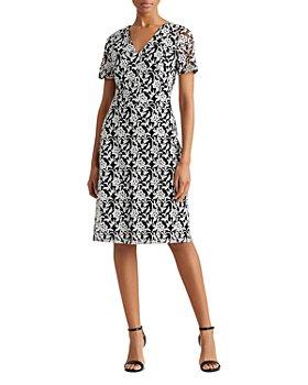 Ralph Lauren - Floral Embroidered Dress