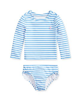 Ralph Lauren - Girls' Stripe Two-Piece Swimsuit - Baby