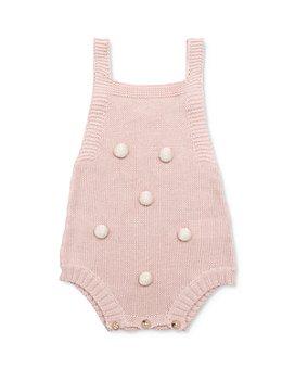Tun Tun - Girls' Pom Pom Romper - Baby