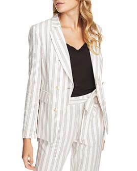 1.STATE - Duet Modern Striped Blazer