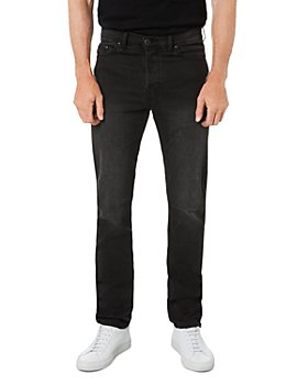 Outland Denim - Range Slim Fit Tapered Jeans in Washed Black