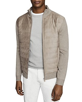 REISS - Bernardi Quilted Jacket
