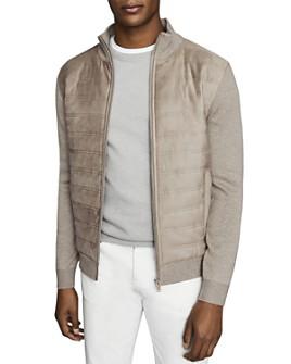 REISS - Bernardi Quilted Jacket