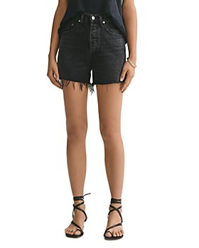AGOLDE - Exhibit Dee Cutoff Denim Shorts