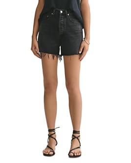 AGOLDE - Exhibit Dee Cutoff Denim Shorts