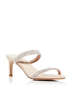 Jeffrey Campbell Women\\\'s Embellished High-Heel Slide Sandals
