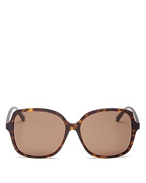 Bottega Veneta Women's Square Sunglasses, 59mm