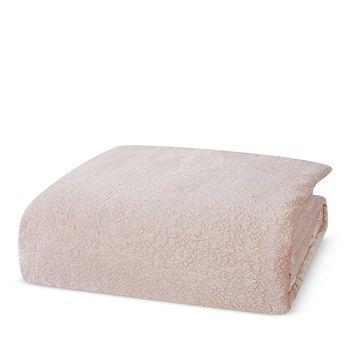 Charisma - Melange Quilted Velvet Comforter Set, King