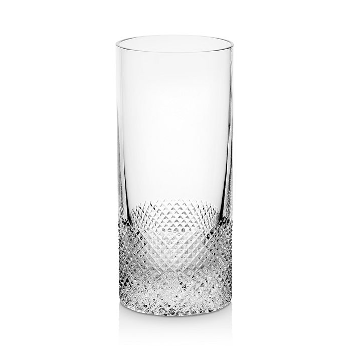 Richard Brendon Diamond Crystal Highball Glass