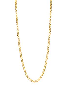 "Bloomingdale's - 14K Yellow Gold Solid Curb Chain Necklace, 22"" - 100% Exclusive"