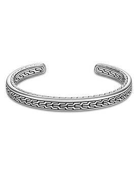 JOHN HARDY - Classic Chain Sterling Silver Slim Cuff Bracelet