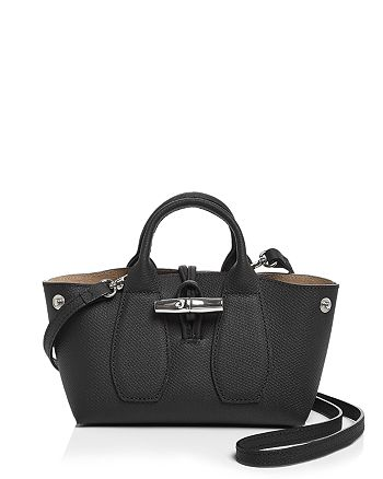 Longchamp Roseau Mini Leather Satchel | Bloomingdale's