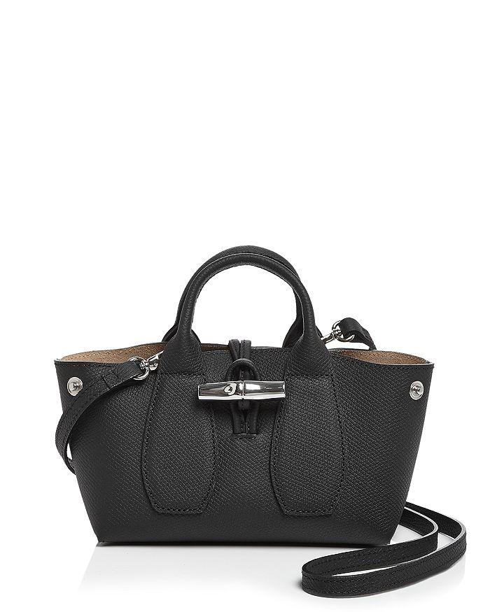 Longchamp - Roseau Mini Leather Satchel
