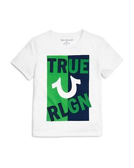 True Religion - Boys' Cotton Logo Tee - Little Kid, Big Kid