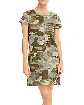 ATM Anthony Thomas Melillo - Camouflage-Print Dress