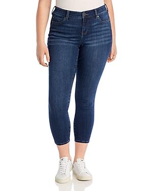 Liverpool Plus Ankle Skinny Jeans in Elysian Dark