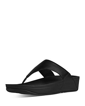 FitFlop - Women's Lulu Slip On Thong Wedge Sandals