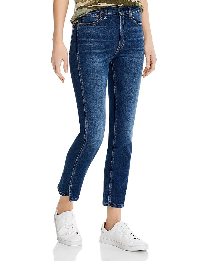 rag & bone - Nina High-Rise Cigarette Jeans in Manchester