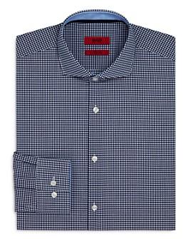 HUGO - Kery Gingham Slim Fit Dress Shirt