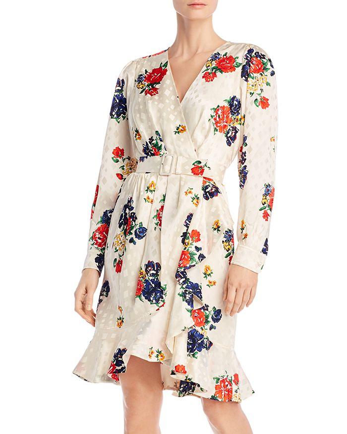 Tory Burch - Printed Silk Wrap Dress