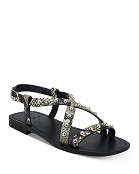 Marc Fisher LTD. - Women's Fianna Silver-Tone Studded Sandals
