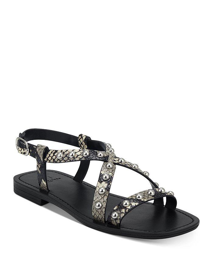 Marc Fisher LTD. - Women's Fianna Silver-Tone Studded Sandals
