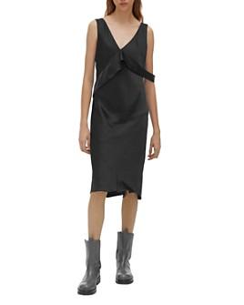 Helmut Lang - Attached-Sash Dress