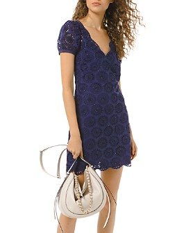 MICHAEL Michael Kors - Cotton Floral Eyelet Dress