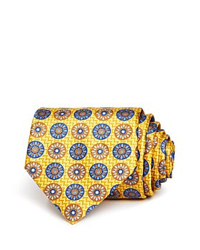 Ermenegildo Zegna - Circle Medallion Silk Classic Tie