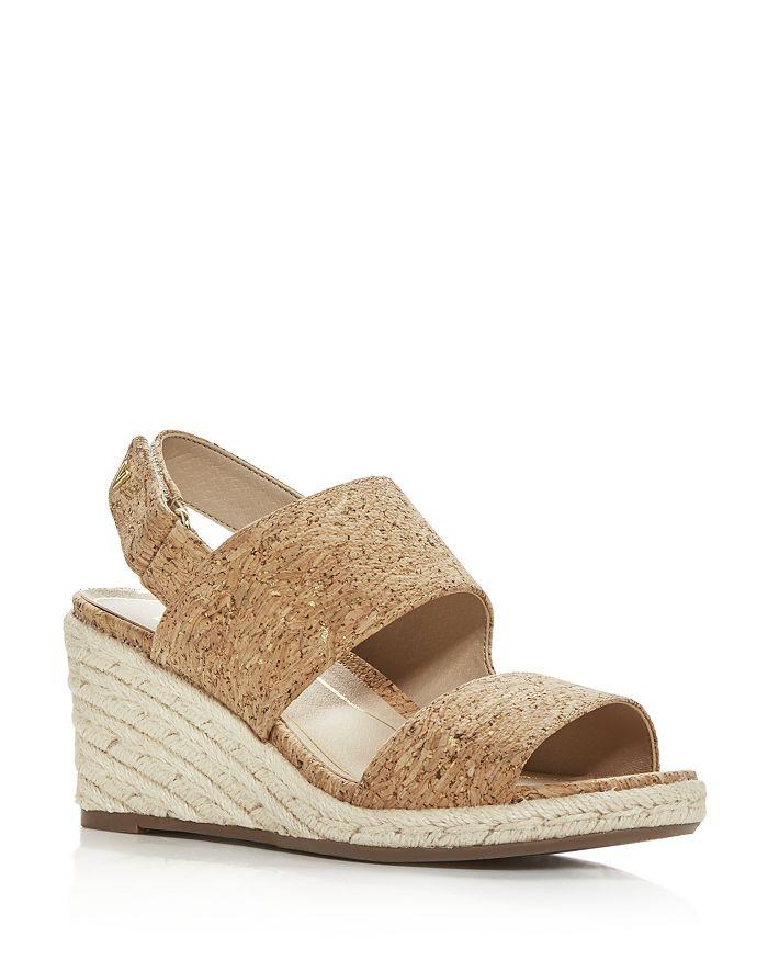 Vionic - Women's Brooke Cork Slingback Espadrille Wedge Sandals