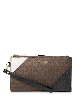 MICHAEL Michael Kors - Jet Set Double Zip Mini Wristlet