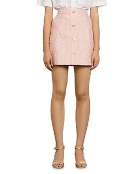 Sandro - Zeby Jacquard Mini Skirt
