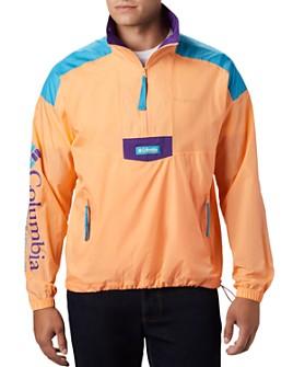 Columbia - Santa Ana Nylon Color-Blocked Packable Regular Fit Anorak