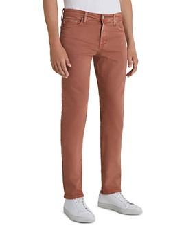 AG - Tellis Slim Fit Jeans in 7 Years Sulfur Worn Copper
