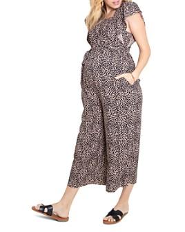 Ingrid & Isabel - Flutter-Sleeve Maternity Jumpsuit
