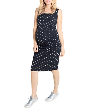Ruched Tank Maternity Dress