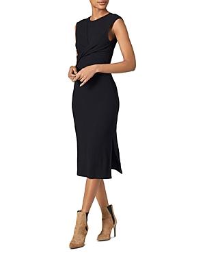 Joie Eos Twist-Front Textured Dress-Women