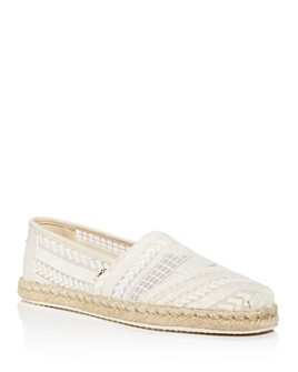 TOMS - Women's Classic Embroidered Espadrille Flats