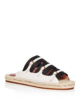 COACH - Women's Devon Strappy Espadrille Slide Sandals