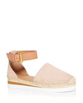 See by Chloé - Women's D'Orsay Espadrille Flats